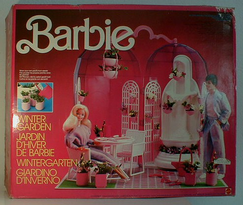 barbie wintergarten