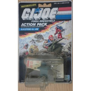 Gi Joe action pack elicottero 1987
