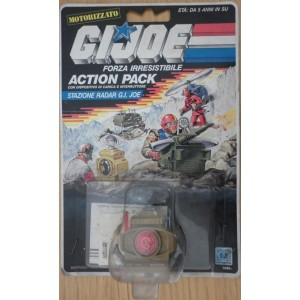 Gi Joe action pack stazione radar 1987
