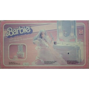 Barbie specchiera luminosa 1982