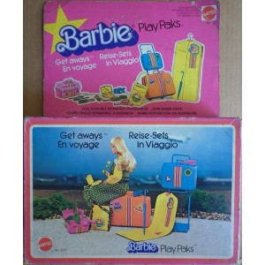 Barbie Play Paks in viaggio 1978
