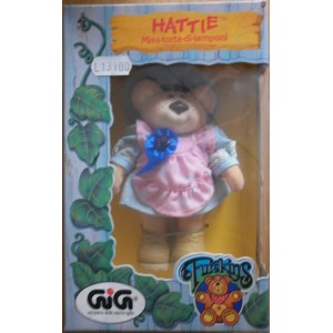 Furskins Hattie bear plush 1986
