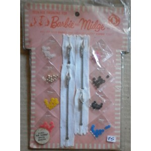 Barbie e Midge accessori per il cucito 1964