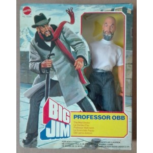 Mattel Big Jim Professor Obb Lo scienziato pazzo The Mad Doctor 1981