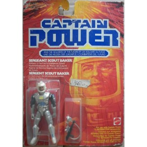 Capitan Power personaggio Sergent Scout Baker 1987