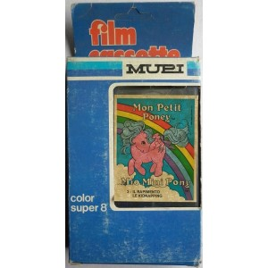 Mupi filmino Super 8 MLP My Little Pony 3 1984
