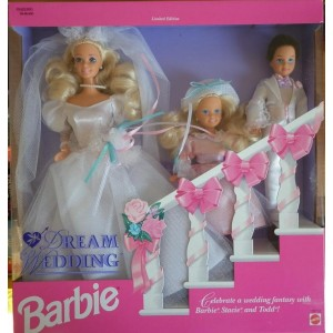 Barbie sposa da sogno Dream Wedding playset 1993