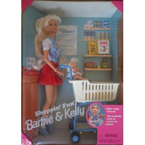 Barbie e Kelly bambole Shoppin' Fun playset 1995