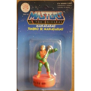 Motu Masters of the Universe timbro Man-at-Arms 1985