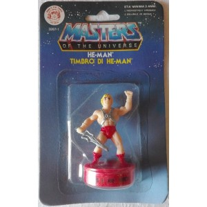 Motu Masters of the Universe timbro He Man 1985