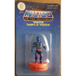 Motu Masters of the Universe timbro Webstor 1985