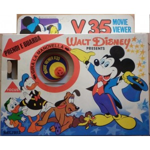 Mupi proiettore filmini Movie Viewer Walt Disney