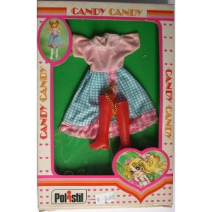 Pink and blue dress for Candy doll