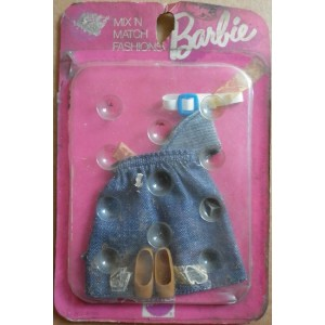 Barbie Mix n' Match fashion gonna jeans 1973