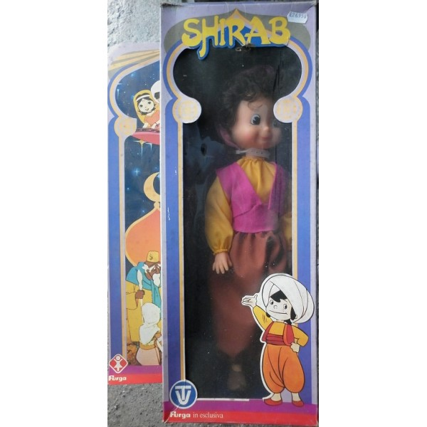 Oldtoys on line furga bambola shirab cartone