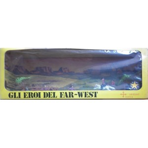 Gli eroi del Far West soldatini cowboys 1/32