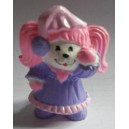 Poochie miniature figure with nightgown 1986