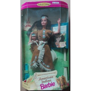 Barbie American Stories American Indian doll 1995