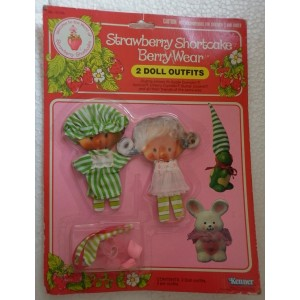 Strawberry Shortcake vestiti per bambola 1981