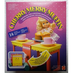 Muffin mix table for Cherry Merry Muffin  doll 1989