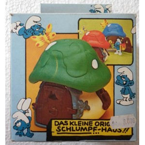 Schleich Peyo The small original house of the Smurfs - blue