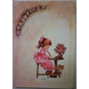 Ethel Mary quaderno righe 1981 Bazzana come Holly Hobbie