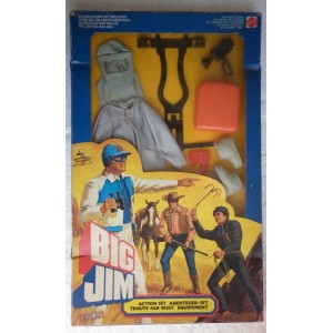 Big Jim outfit completo pompiere 1980