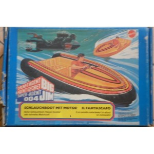 Mattel Big Jim Agente Segreto Fantascafo 1979