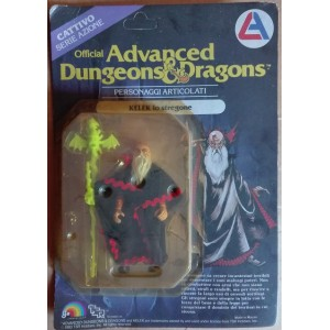 Advanced Dungeons & Dragons personaggio Kelek lo stregone 1983