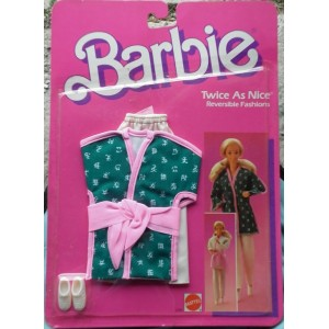 Barbie vestito Twice as Nice completo sportivo reversibile 1985