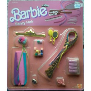 Accessori capelli Barbie Finishing Touches Fancy hair 1985