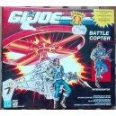 Hasbro Gi Joe Battle Copter Elicottero + personaggio Interrogator 1991