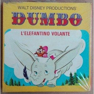 Walt Disney Cinecasa film super 8 colori sonoro Dumbo