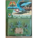 Kenner Mega Force V-Rocs army Fighter Bombers con hangar 1989