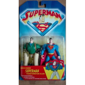 Kenner Quick change Superman trasformabile Clark Kent 1996