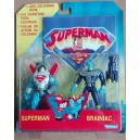 Kenner personaggi Superman e Brainiac 1997