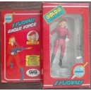 Mego Eagle Force personaggio Generale Mamba