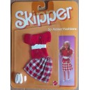 Barbie vestito Skipper So Active fashion completo rosso 1985