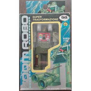Mark Zoom Robo transformers binocolo 1984