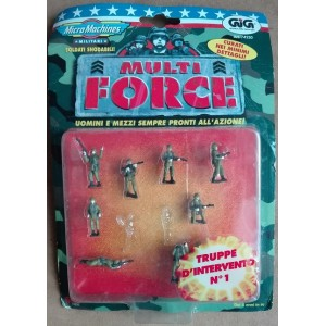 Micro Machines Multi Force soldiers Intervention Troops n. 1 1997