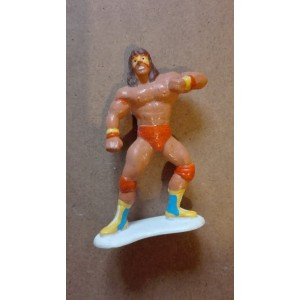 WWF personaggio miniatura PVC Ultimate Warrior 1990