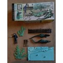 Britains mini kit zoo coccodrilli e guardiano 1/42
