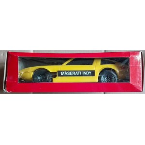 Reel Re.El Maserati Indy gialla 1/24 carica a molla wind up