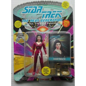 Playmates Star Trek The next generation personaggio Counselor Deanna Troi 1993