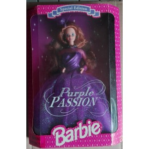 Mattel Barbie Purple Passion doll Special Edition 1995
