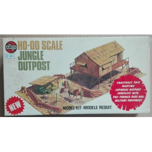 Airfix 04381 kit Jungle Outpost avamposto nella giungla H0 1976