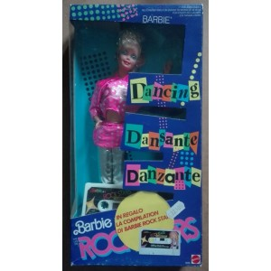 Mattel Barbie Dancing Rock Stars Rockers doll 1986