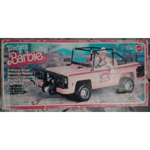 Mattel Barbie 3541 Western Jeep di Barbie 1980