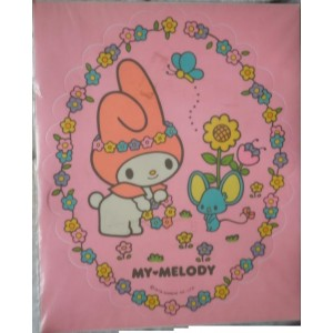 My Melody big sticker 1976