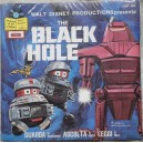Disco 45 giri Disney The Black Hole storia 1979